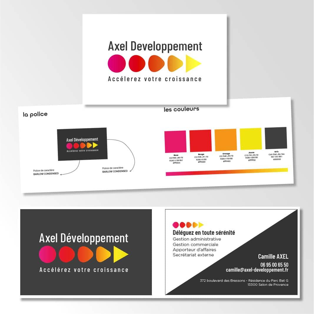 Charte graphique Axel Developpement
